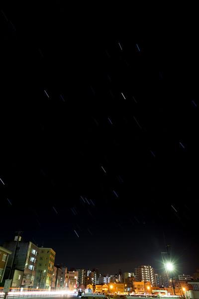 星を撮ってみた