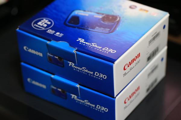 Canon Power Shot D30が双子になった