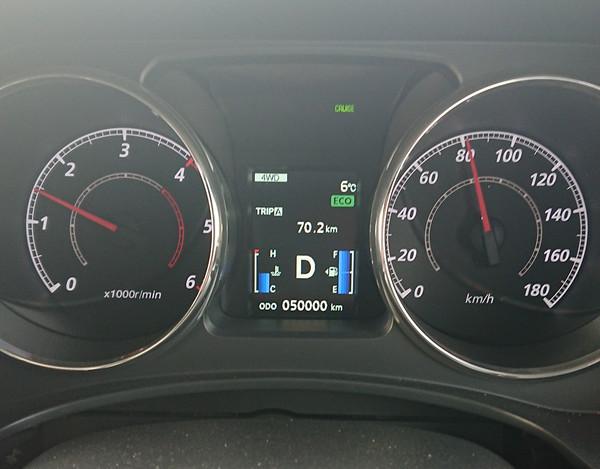 デリカD:5 50,000km